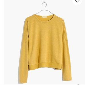 Madewell Hemp Boxy Sweatshirt Sweater CURRENT STYL
